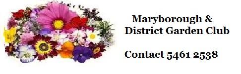 Maryborough & District Garden Club News 24-02-21